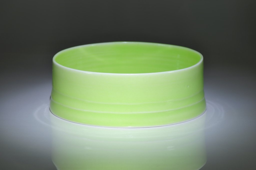 Green Porcelain Bowl